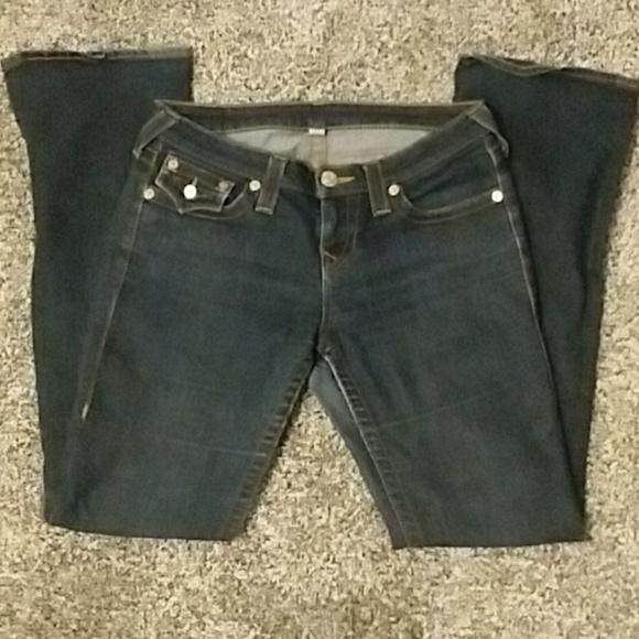 True Religion Denim - True Religion Dark Wash Jeans